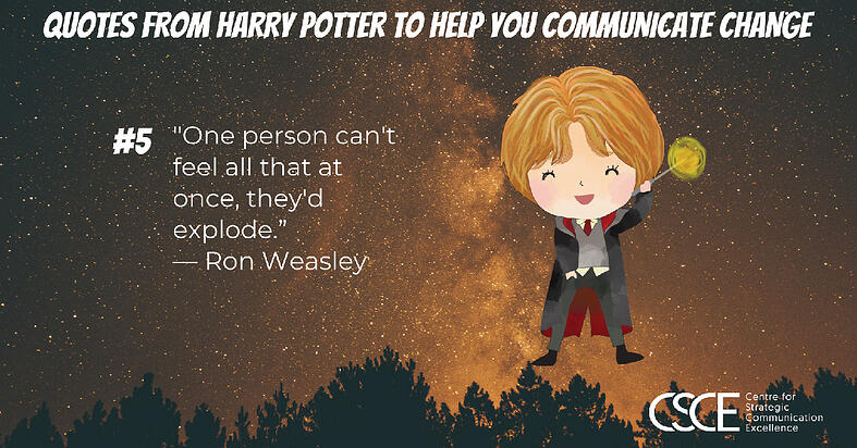 Ron Weasley quote and image