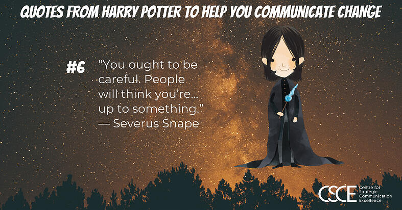 Severus Snape quote and image
